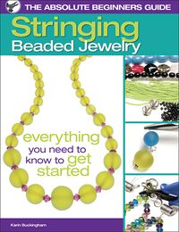 Stringing Beaded Jewelry Cover